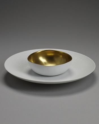 Gold Entrée Server - Sylvie Coquet for CoutureLab - CoutureLab.com