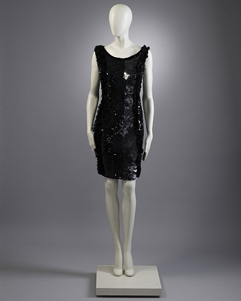 Black Sequined Dress   - Starzewski for CoutureLab - CoutureLab.com