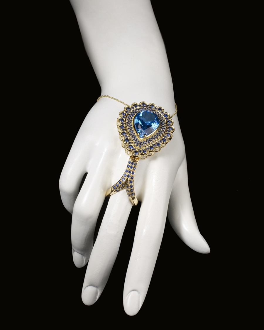 Tourmaline Teardrop Ring - CoutureLab Jewelry - CoutureLab.com from couturelab.com