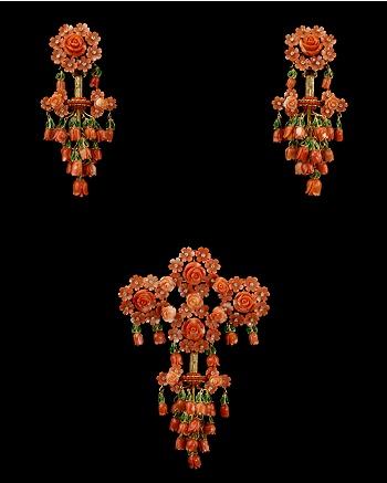 Aderezo de Corales Esplendor - Vicente Gracia for CoutureLab - CoutureLab.com