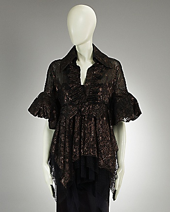Isabel Toledo Collection - Infanta Lace Blouse: CoutureLab.com
