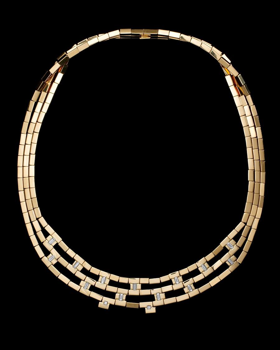 Geometry Diamond Necklace - Jean Grisoni Collection - CoutureLab.com