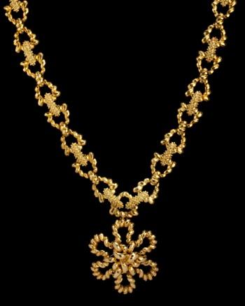 Vintage Gold Necklace - Karry'O for CoutureLab  - CoutureLab.com