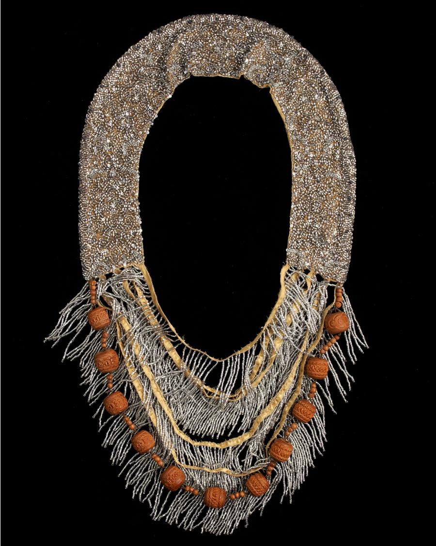 Antique Beaded Collar - Walid for CoutureLab - CoutureLab.com