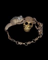 Skull And Frogs Bracelet