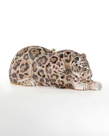 Jaguar Evening Bag - Judith Leiber Collection  - CoutureLab.com