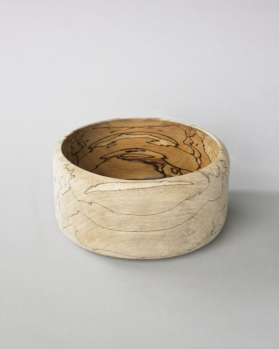 Deep Copper Beech Bowl - Ernst Gamperl for CoutureLab - CoutureLab.com