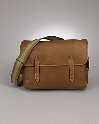 Loud for CoutureLab - Golden Brown Ammunition Bag for men from CoutureLab.com :  travel handbag fashion leather